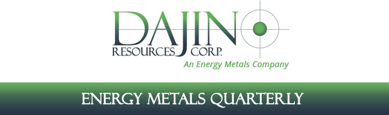 Dajin Resources Ready For Spike in Lithium Demand