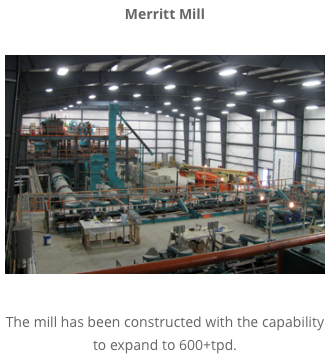 Nicola Mining, Milling by April, +Cash Flow in 2016?