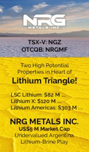NRG Metals - Lithium Triangle