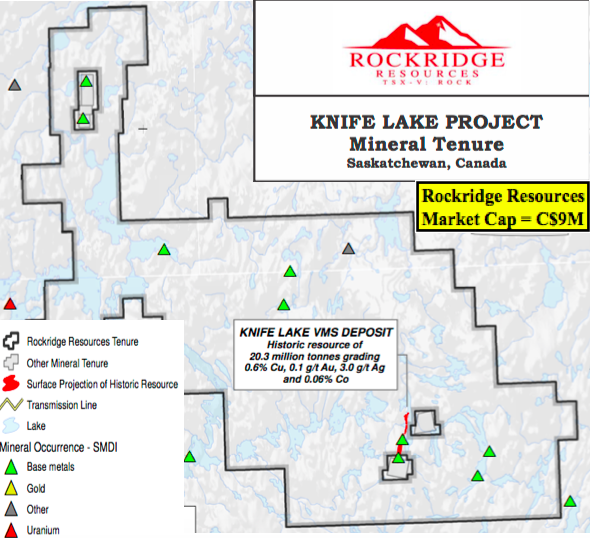 Rockridge Resources Reports Blockbuster Copper Intercept; 36.7m @ 2.42% Cu Eq.