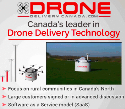 Drone Delivery Canada Chosen in Transport Canada Pilot Program