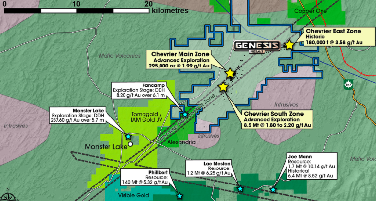 Genesis Metals, Interesting Junior Gold Play in Quebec