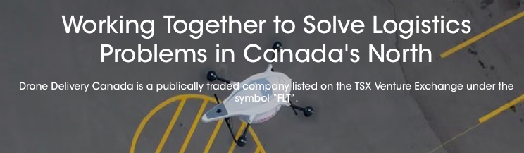 Drone Delivery Canada Wins Giant New Customer