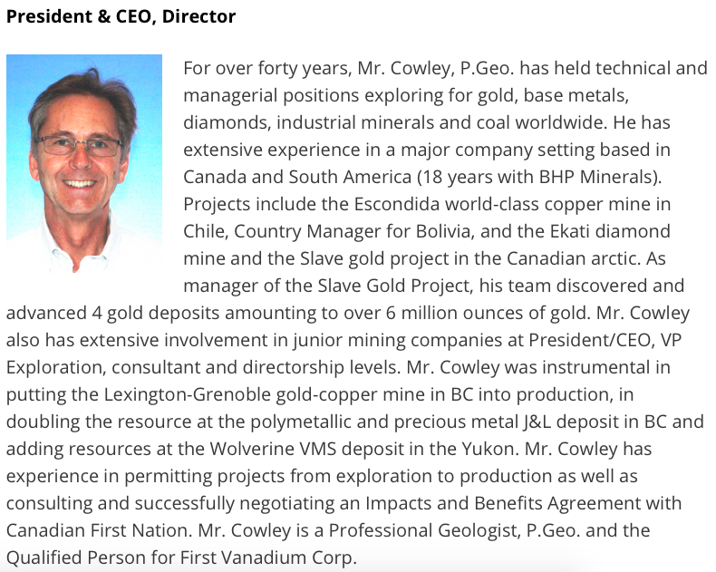 CEO Interview: Paul Cowley of First Vanadium Corp. explains new gold target