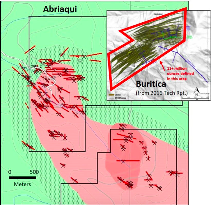 FenixOro Gold Corp. expands mineralization to 2.5 by 1.0 km, over 900 m vertical extent