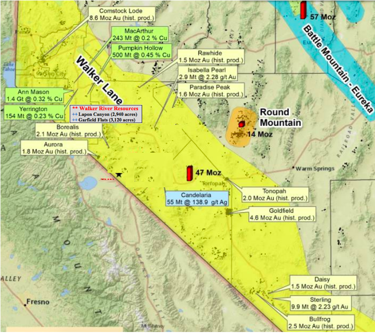 Highest-grade gold junior in Nevada that no one's heard of? Walker River Resources