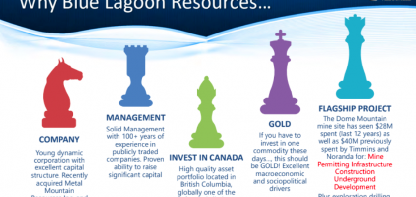 Blue Lagoon Resources, near-term production opportunity, High-Grade gold & silver in B.C.