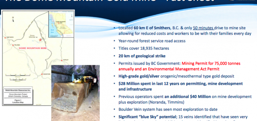 Blue Lagoon Resources; the next gold-silver producer in B.C. Canada? And, high-grade!