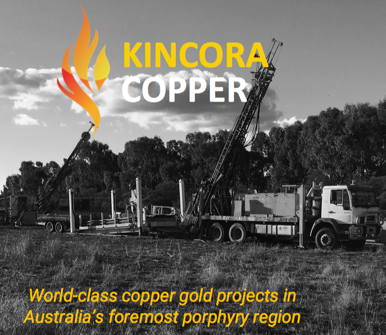 Kincora Copper; cheap entry into Australia's foremost porphyry copper-gold belt in NSW