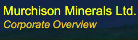Murchison Minerals, High-Grade #Zinc