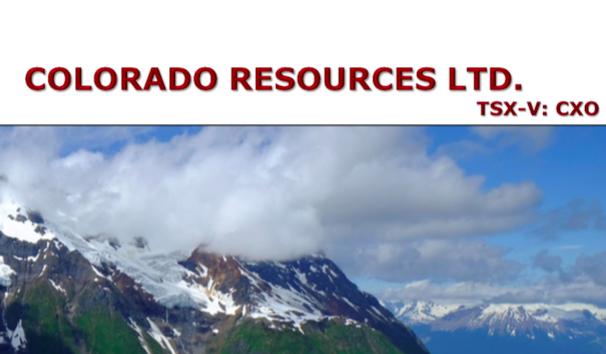 Colorado Resources, By Brian Leni  P.Eng