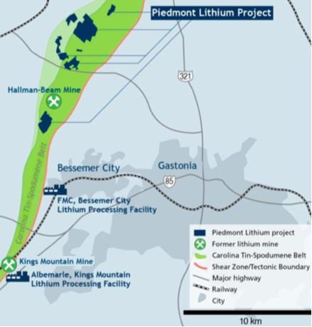 Piedmont Lithium, a Promising U.S. Hard Rock Play