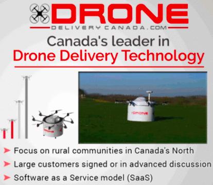 Drone Delivery Canada Chosen in Transport Canada Pilot Program