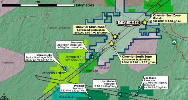 Genesis Metals, Interesting Junior Gold Play in Quebec